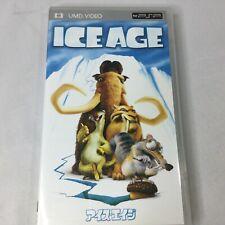 Sony PSP Ice Age Japan Import UMD Video Portable Romano Leguizamo Leary Black