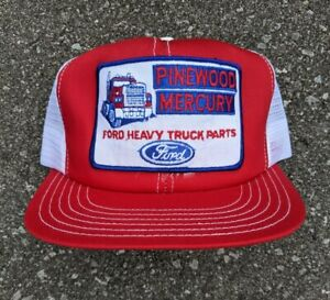 Vintage 1980s Promo-Wear Ford Mercury Mesh Trucker Hat