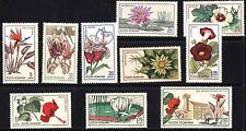 Romania 1965 Cluj Botanical Garden Complete Set of Stamps MNH