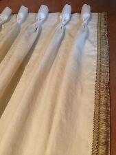 Lewis y madera Kemble/Samual & Sons Aurelia cortinas plisadas de cáliz hecha a medida