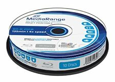Mediarange Blu-ray Vierge Bd-r 4x imprimable 10p.
