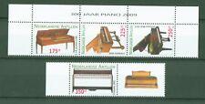 Ndl. Antillen Dutch Antilles 2009 - Klavier Piano Flügel - Yamaha - Nr. 1754-57