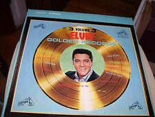 ELVIS PRESLEY-ELVIS' GOLDEN RECORDS VOLUME 3-LP-NM-RCA VICTOR BEIGE LABEL-STEREO