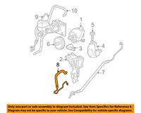 GM OEM-Power Steering Return Hose 15813687