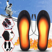 5V 2A Electric Heated Feet Shoe Insole USB Foot Heater Warmer Breathable