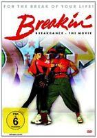BREAKIN' BREAKDANCE - THE MOVIE  DVD NEW+ LUCINDA DICKEY/CHRISTOPHER MCDONALD/+