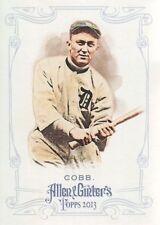 Topps Ty Cobb Detroit Tigers Original Baseball Cards