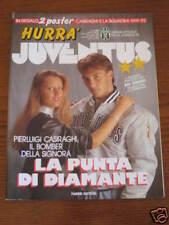 HURRA' JUVENTUS 1991/10 MENEGHIN CARLO PAROLA BONIPERTI