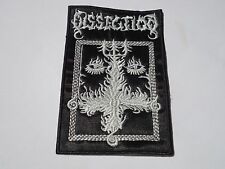 DISSECTION THE PAST IS ALIVE EMBROIDERED PATCH