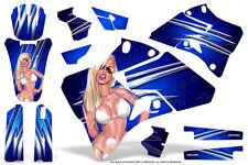 YAMAHA YZ125 YZ250 1996-2001 GRAPHICS KIT CREATORX DECALS YOU ROCK BLUE