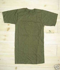 Genuine US Army 100% Cotton Green Crew Neck T-Shirt - Size XXS  - NEW