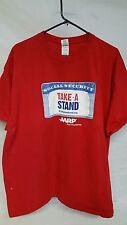 Mens T Shirt   Political  AARP  Red XXL