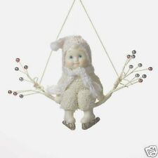 """Department 56 SNOWBABIES """"READY TO SKATE"""" Ornament Porcelain NEW"""