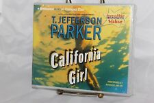 Audiobook T. Jefferson Parker California Girl abridged 6 CDs 6 hours new fiction