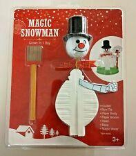Magic Snowman Grow Your Own Snowman Christmas Grow in 1 Day Sealed Nip