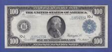 "$100 1914 BEAUTIFUL LARGE ""BETTER KANSAS CITY"" Federal Reserve Note!  x2a"