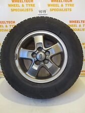 LAND ROVER DISCOVERY TD5 ALLOY WHEEL & TYRE 225/65R16 AROUND 3MM TREAD LEFT