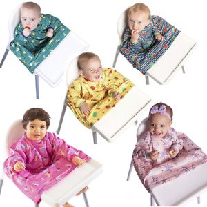 BIBaDO Catch it All, Cover All Full Cover Baby Led Weaning Bib