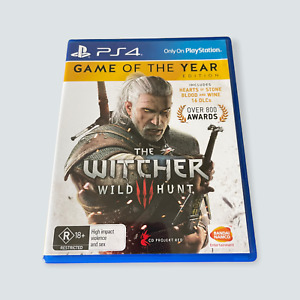 The Witcher 3: Wild Hunt GOTY Ed. for Sony PlayStation 4/PS4 - VGC/AUS/PAL 🐙