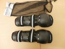 Bike It Motorcycle Protection Safety Dixon GP Knee Protectors Black / Adult Size