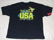 Team Apparel Team Usa Rio De Janeiro T-Shirt Navy Blue Frog Xxxl Nwt