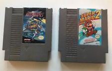 Nintendo NES Game Mario 2 + Rollergames