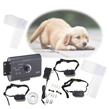 New listing Water Resistant Shock Collar Electric For 3 Dogs Fencing System
