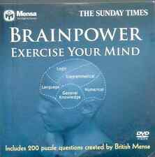 BRAINPOWER: EXERCISE YOUR MIND - PROMO INTERACTIVE DVD QUIZ (2006) MENSA