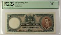1.1.1941 Government of Fiji 5 Shillings Note SCWPM# 37d PCGS Very Fine VF-30