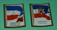 German Vintage Cigarettes Card. YUGOSLAVIA. Flags of countries World War I