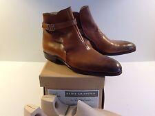 Saint Crispin's Jodhpur Boots 8.5F/9 Brown Boots Trees US 9 UK 8.5F