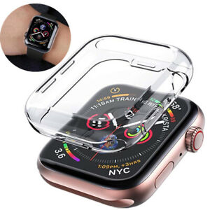 For Apple i Watch Series SE 6 5 4 Protective UltraThin HD Clear TPU Case 40-44mm