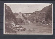 Weyer in Oberösterreich mit der Ennsbrücke gelaufen