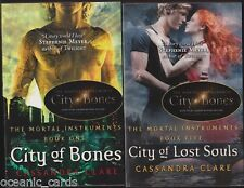 CASSANDRA CLARE CITY OF BONES MORTAL INSTRUMENTS 5 BOOK SET