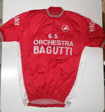 Maglietta ciclismo Vintage Castelli - Cycling jersey Tshirt '70s eroica
