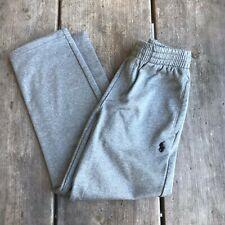 Boys Polo Ralph Lauren Heather Gray Sweatpants Drawstring Pockets Size Small