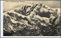 Asien Asia (Nepal) Vintage Postcard ~1920 View of Kinchinjunga Himalaya Gebirge