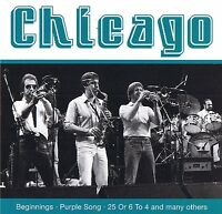 "CHICAGO ""Beginnings"" Live CD Fox Music Neu & OVP San Juan Music Group"