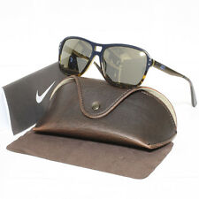 New Mens Nike Sunglasses VINTAGE 86 EV0638 443 108 Blue/Havana Flash Lenses