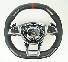 LE TEF® Carbon Leder Lenkrad für Mercedes-Benz AMG GTS C190 W205 W222 W217 W447