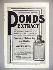 Pond's Extract PRINT AD - 1910 ~ Ponds vanishing cream