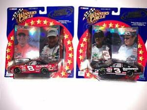 2001 Dale Earnhardt Sr & Jr- Childress 1/43 Winners Circle Double Platinum Lot-2
