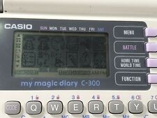 Vintage 1993 Casio Magic Diary C-300 - Tested & Working