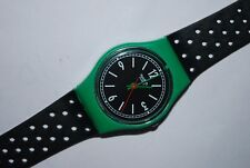 Vintage Swatch Watch LG-103 CARLISLE Ladies 1986 Swiss Quartz Plastic Original