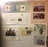 Saudi Arabia Full Year Packed Of Stamps 2016