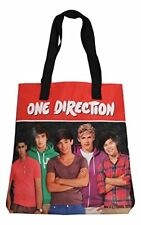 ONE DIRECTION 1D LICENSED MEDIUM SHOULDER HAND BAG SCHOOL COLLEGE GYM TOTE BAG
