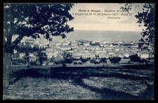 carte postale PORTO SAINT GIORGIO station des soins et salon - panorama
