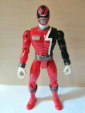 "MMPR POWER RANGERS SPD Space Police RED 5"" TOY figure"