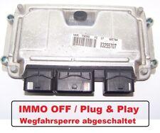 Steuergerät Peugeot 307 1,6l NFU 80KW 0261206943 9650346180 194061 ECU IMMO OFF