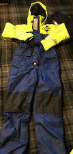 1pc Fladen floatation flotation suit, immersion, fishing, sailing, boating XS